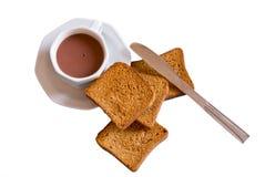 белизна завтрака Стоковое Изображение