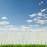 белизна загородки Стоковое Изображение RF