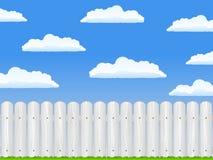 белизна загородки бесплатная иллюстрация