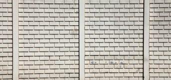 белизна загородки Стоковая Фотография