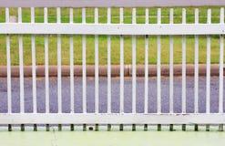 белизна загородки Стоковое фото RF