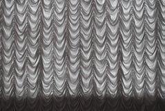 белизна занавеса Стоковое фото RF