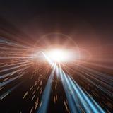 белизна звезды космоса Стоковые Фото