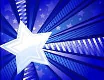 белизна звезды иллюстрация вектора