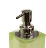 белизна зеленого цвета распределителя предпосылки Стоковая Фотография RF