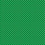 белизна зеленых polkadots предпосылки малая Стоковое Изображение RF