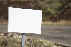 белизна знака Стоковое Изображение RF