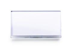 белизна значка изолированная пробелом названная Стоковые Фото