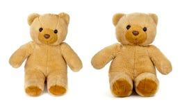 белизна игрушечного медведя старая Стоковое Изображение