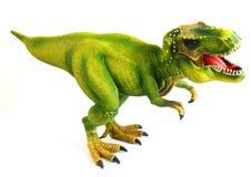 белизна изолированная динозавром стоковое фото rf