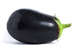 белизна изолированная aubergine Стоковые Фото