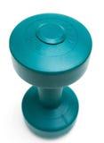 белизна изолированная dumbell Стоковое фото RF