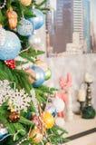 белизна изоляции декора рождества Большая яркая живущая комната рождество моя версия вектора вала портфолио стоковое изображение