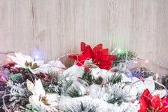 белизна изоляции декора рождества Новый Год рождества предпосылки стоковое изображение rf