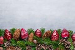 белизна изоляции декора рождества приветствие рождества карточки Xmas символа Стоковая Фотография RF
