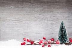 белизна изоляции декора рождества приветствие рождества карточки Xmas символа Стоковое Фото