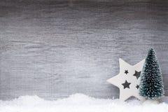 белизна изоляции декора рождества приветствие рождества карточки Xmas символа Стоковые Изображения RF