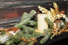 белизна изоляции декора рождества стоковое фото rf