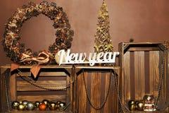 белизна изоляции декора рождества стоковые изображения rf