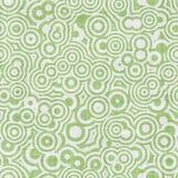 белизна искусства зеленая op безшовная Стоковое Фото