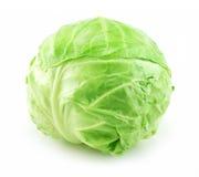 белизна капусты изолированная зеленым цветом зрелая стоковые фото