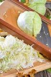 белизна капусты Стоковое Фото