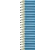 белизна карандаша предпосылки голубая Стоковое Изображение