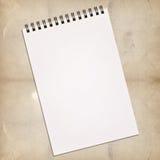 белизна картины тетради Стоковая Фотография RF