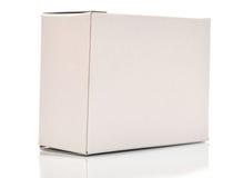белизна картона коробки Стоковое фото RF