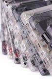 белизна кассет предпосылки старая Стоковые Изображения