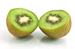 белизна кивиа плодоовощ предпосылки Стоковые Фотографии RF