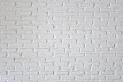 белизна кирпичной стены Стоковая Фотография