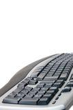 белизна клавиатуры компьютера Стоковое Фото