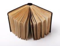 белизна книги предпосылки старая открытая Стоковая Фотография