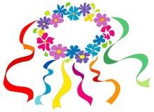 белизна кольца цветка Стоковые Фото