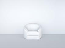 белизна комнаты кресла Стоковое Изображение RF