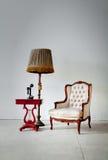 белизна комнаты кресла Стоковые Фото
