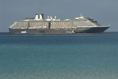 белизна корабля круиза роскошная Стоковые Фотографии RF
