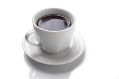 белизна кофейной чашки совершенная Стоковая Фотография