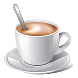 белизна кофе Стоковое Изображение