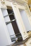 белизна кухни шкафа Стоковая Фотография RF