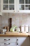 белизна кухни Стоковые Изображения RF