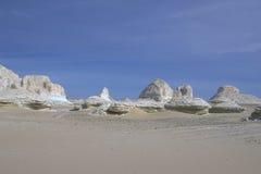 белизна ландшафта пустыни Стоковые Изображения RF
