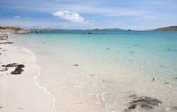белизна лета Англии пляжа песочная стоковое фото