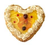 белизна лимона торта стоковые фото