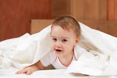 белизна листа ребёнка Стоковая Фотография RF
