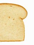 белизна ломтика хлеба Стоковая Фотография