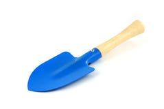 белизна лопаткоулавливателя предпосылки голубая изолированная Стоковое Изображение