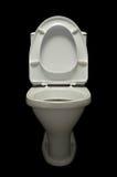 белизна лотка 2 туалетов Стоковая Фотография