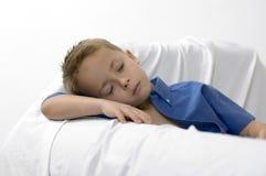 белизна мальчика мечт Стоковая Фотография RF